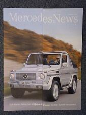 Mercedes News Sommer, Herbst, Winter 2004 CLS, M, A, G Klasse, Vaneo