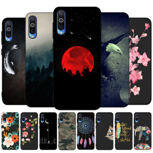 For Samsung A50 A70 A20E A51 A71 Phone Case Painted Matte Soft Rubber Cover Skin