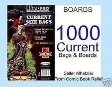 1000 CURRENT ULTRA PRO BAGS AND BOARDS FOR COMIC BOOKS
