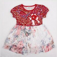 New With Tag NOVA Kidswear Red Floral Dress 2/3Y