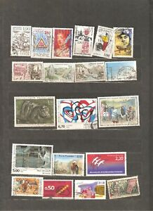 56 used stamps, any years issue