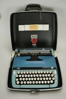 Vintage 1973 Smith Corona Sterling Portable Typewriter #6HSE 183789