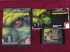 SEGA MEGA DRIVE-Corporation! completo 3D VIRGIN Juegos Rara!
