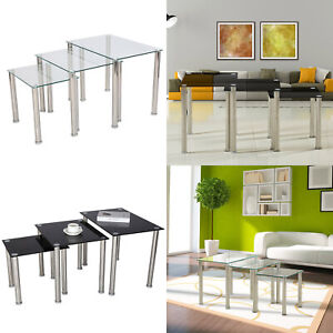3 coffee set tables home living room black and white furniture metal feet