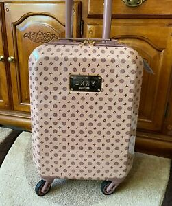"""DKNY Pink Cabin Approved Suitcase 18"""" Hard Case Primose DM114LG9 Hand Luggage"""