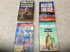 Philip K Dick Paperback 4 Book Science Fiction Bundle