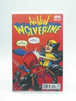 All New Wolverine #4 Variant Marvel Comics 2016 VF Free Shipping