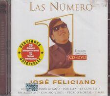 Jose Feliciano Las Numero 1 CD+DVD New Nuevo sealed