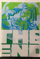 The End #4 NM- Ed Hillyer Ilya O-dalle en béton Publications