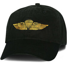 MARINE CORPS NAVY JUMP WINGS  EMBROIDERED MILITARY HAT CAP