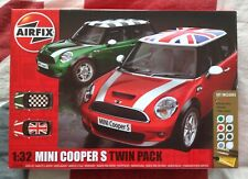Airfix A50126 Mini Cooper S Twin Pack 1:32 - New & Sealed