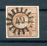 Bavaria Number Stamp Gmr 49 On 4II Ideal Postmarked (H0452