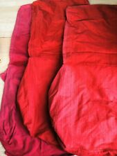 IKEA Henriksdal red chair covers, x3. Easy to dye
