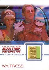 Quotable Star Trek Deep Space Nine DS9 Costume Card - C18 Waitress (Multi)