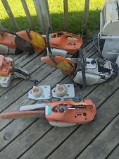 Lot Of 3 Stihl Ts 420 Ts 410 Water Concrete Cut Off Saw