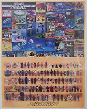 STAR WARS : KENNER VINTAGE ACTION FIGURES & TOY COLLECTION POSTER