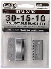 1037-400 Standard Adjustable Replacement Blade Set, 30-15-10 Standard by Wahl