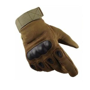 Motorcycle Gloves Hard Knuckle Protection Full Finger Tactical Army Gloves