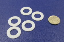 """Acetal Delrin Round Washer, 1/2"""" Screw Size, .885"""" OD, 1/16"""" Thick, 25 Pcs"""