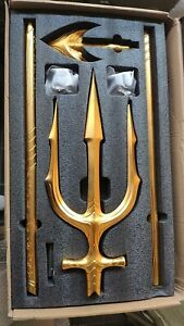 82In 1:1 Scale Avengers Aquaman Trident Weapon Prime Quality Full Metal HCMY