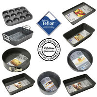 Teflon Non-Stick Cooking Oven Baking Cake Tray Tin Range - Select From Option