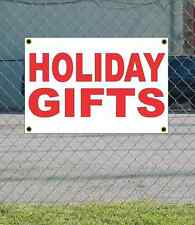2x3 HOLIDAY GIFTS Red & White Banner Sign NEW Discount Size & Price FREE SHIP