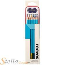 Reeves Aquarelle Crayons À Dessin Etain Jeu De 6 Crayons & Affûteuse