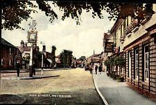 Weybridge High Street. The Ship Hotel.