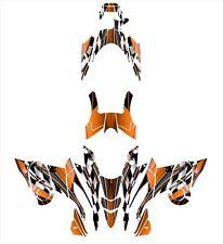 Yamaha FX Nytro 2008 2014 Graphics Wrap Kit #2500 Orange