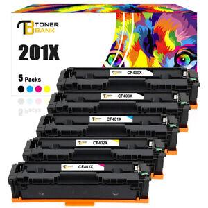 Toner für HP 201X CF400X Color LaserJet Pro M252dw M252n MFP M274n M277dw M277n