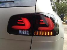 Heckleuchten Rückleuchten VW Touareg 7L 02-10 schwarz Lightbar Rücklichter Set