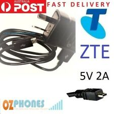 ZTE Wall Charger for Telstra Tough 1 T90 T2 T7 F156 F165 F159 T165i Fast Ship