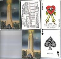 VINTAGE EMPIRE STATE BUILDING PLAYING CARDS