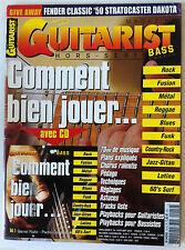 Guitar & Bass Hors Série n°19; Comment bien jouer...Tous les thèmes