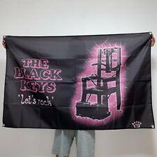 The Black Keys Banner Let's Rock Tapestry Album Cover Logo Flag Art Poster 3x5ft