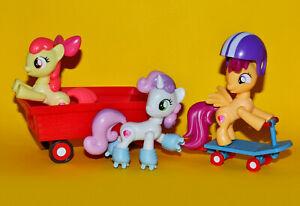 My Little Pony: CMC Cruising Cutie Mark Crusaders Figure Hasbro Set RARE