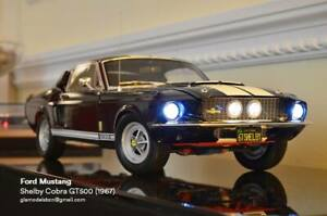 Ford Mustang Shelby GT500 diecast 1/8 scale Altaya Deagostini