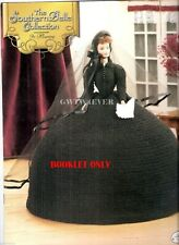 Barbie Crochet Scarlett O'Hara's Black Mourning Bazaar Dress Gone With The Wind