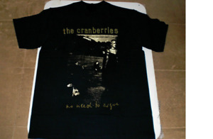 HOT SALE - Vintage New The Cranberries T-Shirt No Need To Argue 1995 Size S-5XL