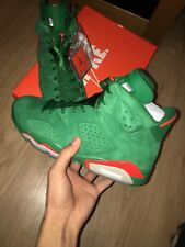 Jordan 6 GATORADE vert pin UK 8