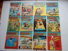 x12 VINTAGE BEANO Comic Library No 131-144, 1987-88 British Comics Libraries LOL