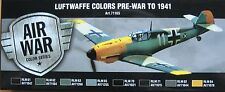 Vallejo Model Air Val71165 Pre Wwii to 1941 Luftwaffe 8 colour paint set