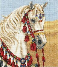 ANCHOR COUNTED CROSS STITCH KIT ARABIAN HORSE EMBROIDERY PETS NATURE NEW