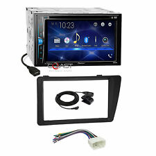Pioneer 2018 DVD USB Bluetooth Stereo Dash Kit Harness for 2001-05 Honda Civic