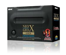 Neo Geo X #Gold Limited Edition + Handheld + Arcade Stick + Spiele JAP NEUWERTIG