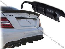 Mercedes c lci w204 amg diffuser bakspoiler optimierung der aerodynamik tuningen