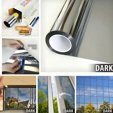 One Way Mirror Window Film Silver 15 Privacy Tint Reflection 24 inch X 14 ft NEW