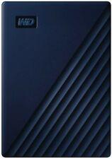 WD 2TB My Passport for Mac Portable External Hard Drive - Blue, USB-C/USB-A