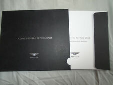 Bentley Continental Flying Spur range brochure 2005 French text