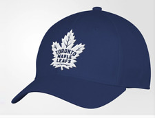 Men's Toronto Maple Leafs Structured Adjustable Fit adidas Blue Cap Hat One Size